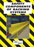 Safety components of racking systems