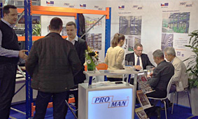 Exhibitions and fairs with PROMAN