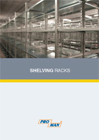 PDF leaflet - Shelving units