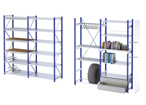 ARCHIVE SHELVING UNITS